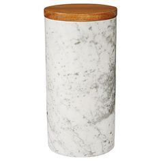 Lisa T Ceramic Canister 20cm