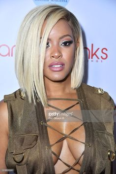 Malaysia Pargo attends Angel Brinks Fashion 5 Year Anniversary Celebration on… Bleach Hair, Curly Hair Styles, Natural Hair Styles, Basketball Wives, Wolfsbane, Black And Blonde, Hair Laid, I Love Girls, Girl Body
