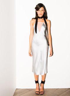 e820910759303 Sheer Plunge Bias Slip – Fleur du Mal Silk Sleepwear, Weekend Wear, Sexy  Dresses