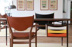 Mid Century Desk | House of Finn Juhl | via Plastolux