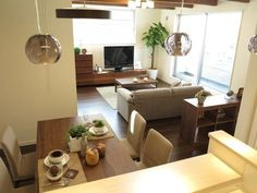 House Design, Couch, Living Room, Muji, Furniture, Parents, Spaces, Home Decor, Kitchens