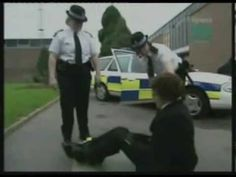 Police Restraining a Person : Demonstration - YouTube