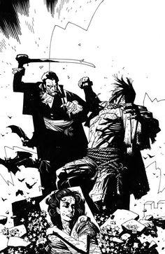Mike Mignola, Dracula meets Frankenstein