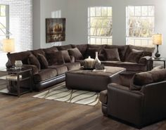 Lawson Sectional Sofa Set C Godiva Jackson Living Room