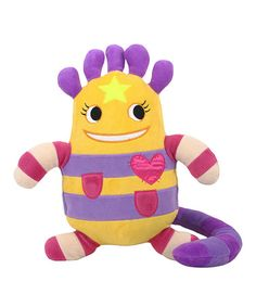 Take a look at this Huggable Hannah Plush Toy by Cuddle Time: Plush Pals on #zulily today!