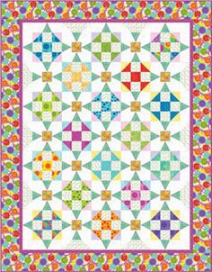 Calypso Quilt-free pattern