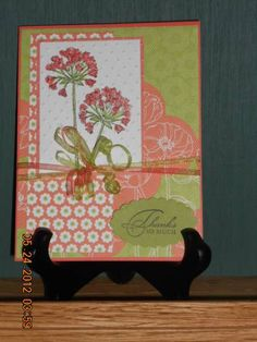 Floral District & Simply Soft by Kay-Kay - Cards and Paper Crafts at Splitcoaststampers