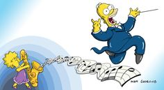 """This photo released by the Twentieth Century Fox Film Corporation shows """"The Simpsons"""" art by Matt G... - AP Photo/Copyright Twentieth Century Fox Film Corporation, The Simpsons"""