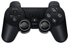 PlayStation 4 controller mock-up.