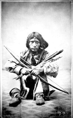 Little Soldier. Ute. 1869