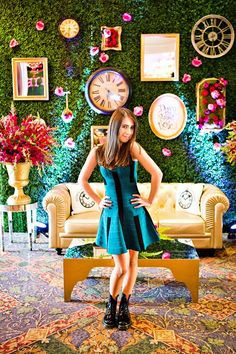 "Spectacular ""Sophie in Wonderland"" Bat Mitzvah // Hostess with the ..."
