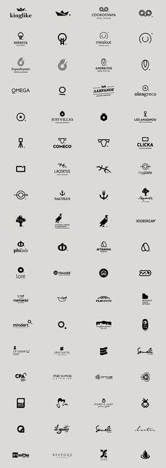 Logos in Black on Behance