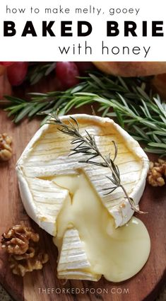 This Baked Brie Recipe is the easiest holiday appetizer you will ever make! Ready in under 15 minutes and made with just three ingredients, learn how you can make this easy, no-fuss, gooey baked brie recipe for your next holiday gathering. Add a little extra wow to each bite and serve your brie with maple candied walnuts for an irresistible marriage of savory and sweet guaranteed to disappear in seconds.