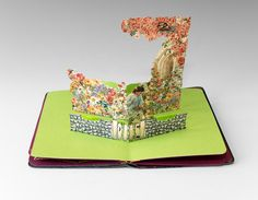 Altered pop-up book by Diane Williams