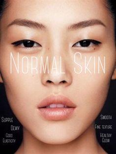 Normal Skin Type Characteristics
