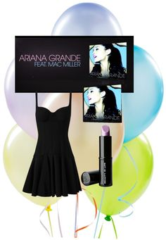 """""""Ariana Grande The way : feat Mac Miller"""" by hellokittygirl102102 on Polyvore"""