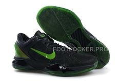 the latest 3c804 cb9e8 Discount Nike Zoom Kobe Vii Mens Black Green