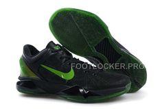 the latest acb6a 5ec34 Discount Nike Zoom Kobe Vii Mens Black Green