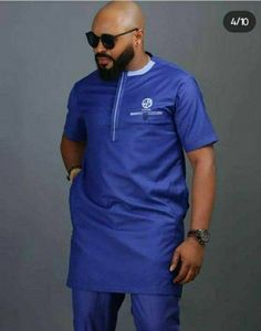 African Wear Styles For Men, African Shirts For Men, African Dresses Men, African Attire For Men, African Clothing For Men, Nigerian Men Fashion, African Men Fashion, Fashion Joggers, Suit Fashion