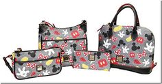 Disney Dooney and Bourke 2015 Taking a Sneak Peek At The Newest Dooney & Bourke Bags- Disneyana and Body Parts!