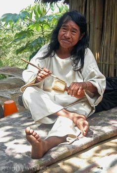 Alejandro, a Kogi Mamo, with his poporo Sierra Nevada, American Spirit, Lost City, People Around The World, South America, Santa Marta, Limo, Mother Earth, Peru