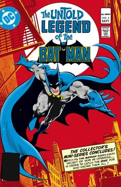 Tales of the Batman: Len Wein by Jose Luise Garcia-Lopez and Dick Girodano *