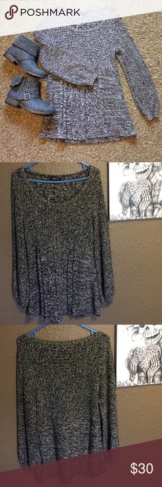 Style & Co. Fall Sweater NWOT! Super cute for fall! Looks great with boots and leggings! Brown and white knit. 60% cotton, 40% acrylic Style & Co Sweaters