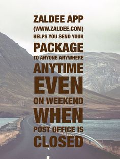 #ZaldeeApp helps you send your package to anyone anywhere anytime even on weekend when Post office is closed. It's cheap and quick. Find your Traveler! ❤️ Download ZALDEE app for FREE  Zaldee® - earn while you travel®, is the coolest way to earn money from excess baggage space available with you while traveling anywhere. ✈️ Sender - Send your package to anyone anywhere anytime #travel #package #courier #shipping #Zaldee #ZaldeeApp #LoveZaldeeApp #sharing #sharingEconomy #EarnWhileYouTravel
