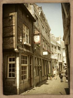 Maastricht.  The most fabulous boutiques are in this street