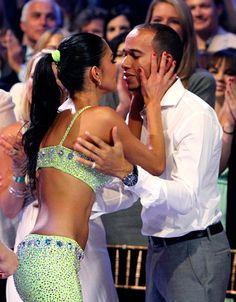 Nicole Scherzinger & Lewis Hamilton Kissing Compilation @ www.wikilove.com