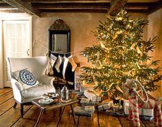 EL JARDIN DE LOS MUFFINS: Blog de Interiorismo y Decoración Vintage.: Una Decoración de Navidad en Estilo Nórdico (que no podría ser más bonita...)