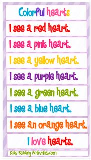 Valentine's Day: Shared Reading
