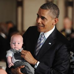 President Obama Signs Babies Act, Mandates Baby Changing Stations Be Available To Dads Too | Romper  Pinned by the National At-Home Dad Network nahdn.org