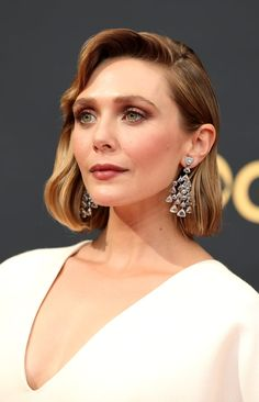 Elizabeth Olsen, Professional Hair Dryer, The Emmys, Celebrity Hair Stylist, Daily Beauty, Grace Kelly, Bob Hairstyles, Her Hair, Makeup Looks