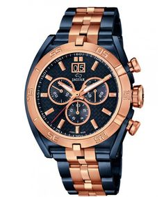 Jaguar chronograph special edition with carbon dial €890,- discounted for €599,- www.megawatchoutlet.com