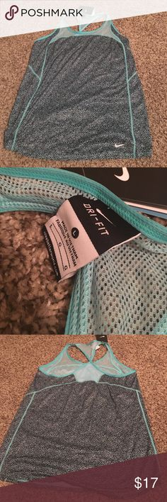 NWOT Nike racer back tank and Capri leggings | Capri, Turquoise and Yellow