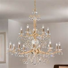 golden chandelier lighting - Yahoo Image Search Results