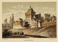 Gezicht Het Valkhof van Del van Bommel en K, st:v.C.W. Mieling - 1883