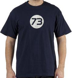 Sheldon Cooper 73 Shirt