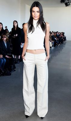 Kendall Jenner in theCalvin Klein collection.