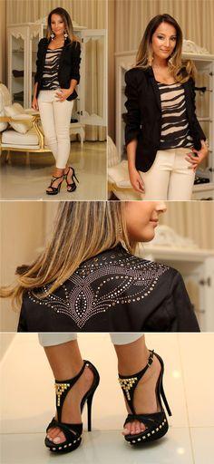 Meninas, o dia hoje começa com looks incríveis! A loja Letícia Sarabia  recebeu mais novidades de outono/inverno e ontem eu estive na loja p...