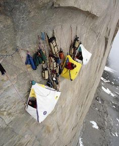 extreme camping! (too extreme for me) but i would still do it :)