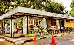Bangkok's Best Bike-themed Cafes