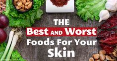 What you eat affects the appearance of your skin. Eat a diet high in fresh vegetables, which are rich in bioflavanoids, and animal-based omega-3 fat. http://articles.mercola.com/sites/articles/archive/2016/03/28/foods-for-healthy-skin.aspx