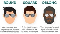 77a74412cd How to Pick the Best Sunglasses for Your Face Shape  Infographic
