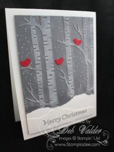 2015  VIDEO Woodland Textured Embossing Folder