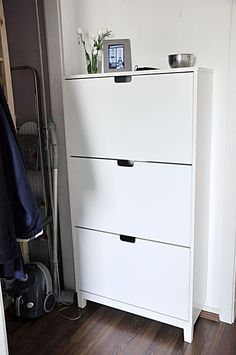 IKEA NORDLI drawers and STÄLL shoe cabinet   Entry ideas ...