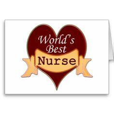 Gifts for nurses - World's Best Nurse Cards