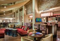 The Republic Lounge at the Houston Marriott Westchase Hotel