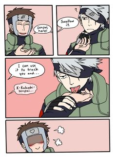 Tracking seeds by medli.deviantart.com on @DeviantArt.. I didn't know there was a Tenzo x Kakashi shit around here xD